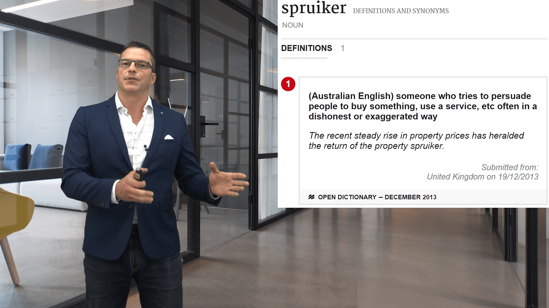 How to spot a Property Spruiker